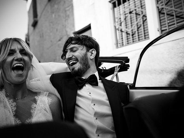 Il matrimonio di Mattia e Marzia a Corte Franca, Brescia 106