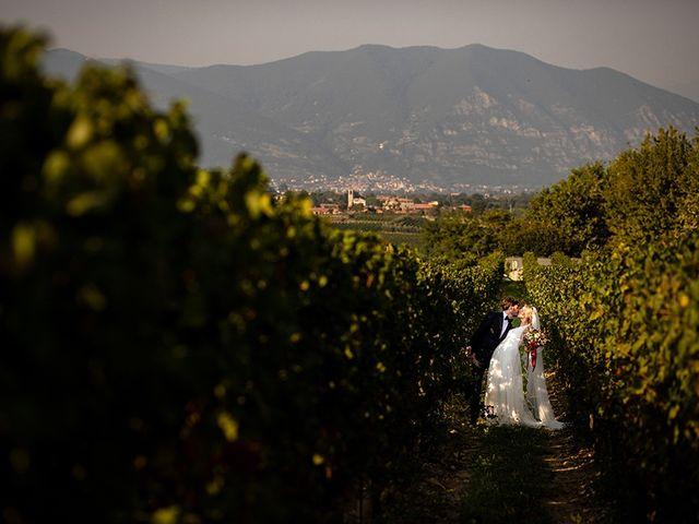 Il matrimonio di Mattia e Marzia a Corte Franca, Brescia 108