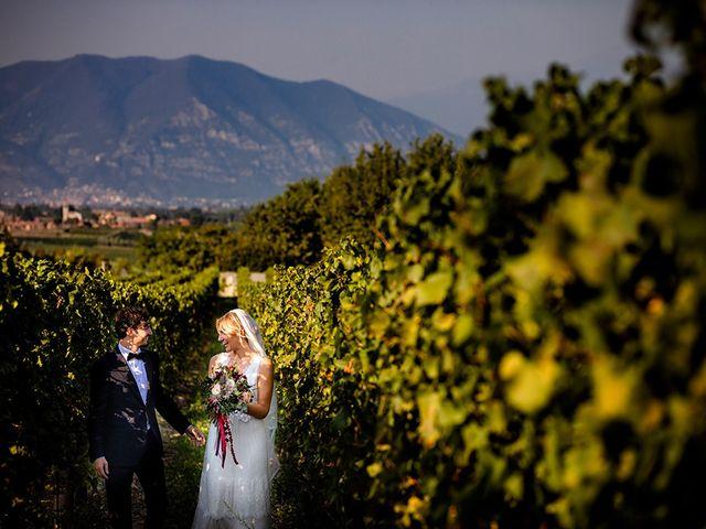 Il matrimonio di Mattia e Marzia a Corte Franca, Brescia 110