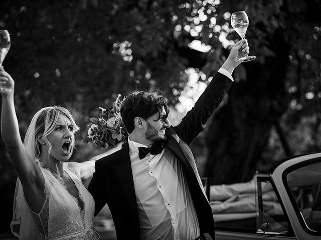 Il matrimonio di Mattia e Marzia a Corte Franca, Brescia 112