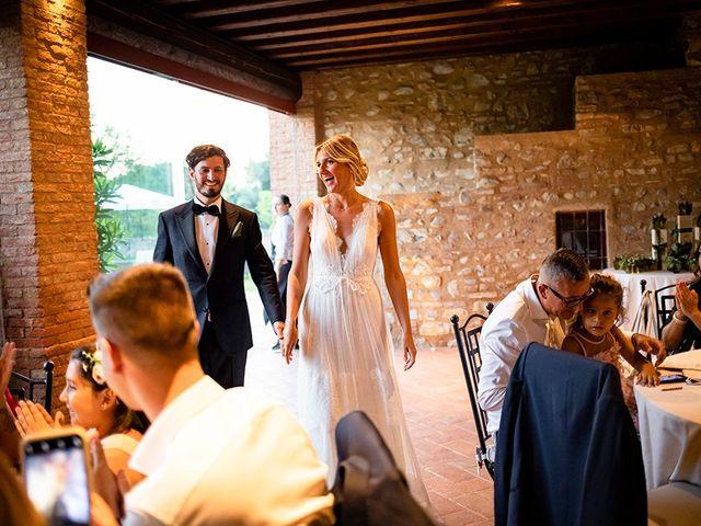 Il matrimonio di Mattia e Marzia a Corte Franca, Brescia 134