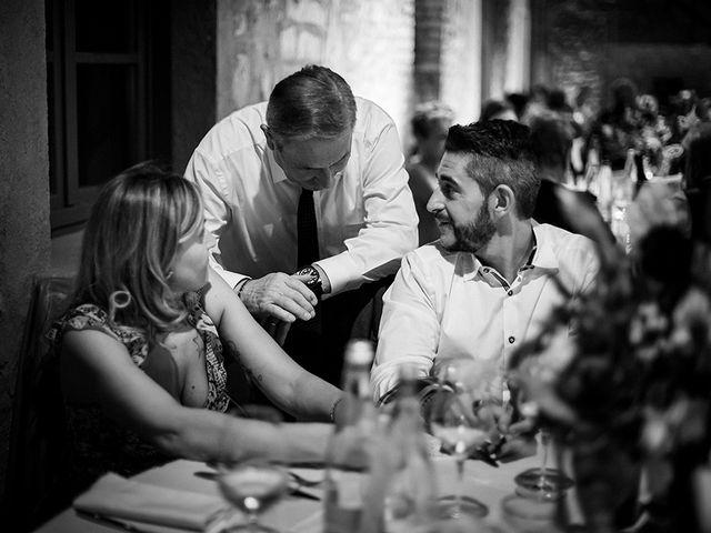 Il matrimonio di Mattia e Marzia a Corte Franca, Brescia 142