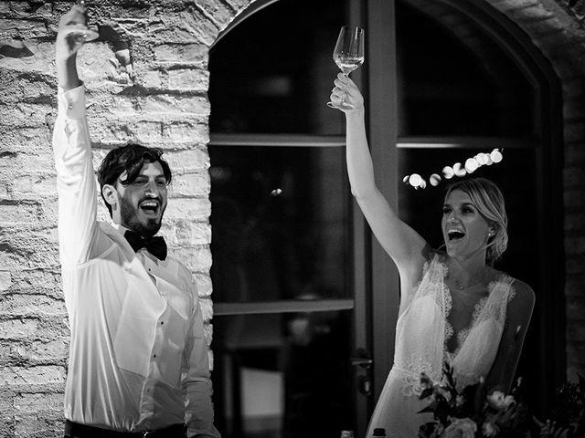 Il matrimonio di Mattia e Marzia a Corte Franca, Brescia 152