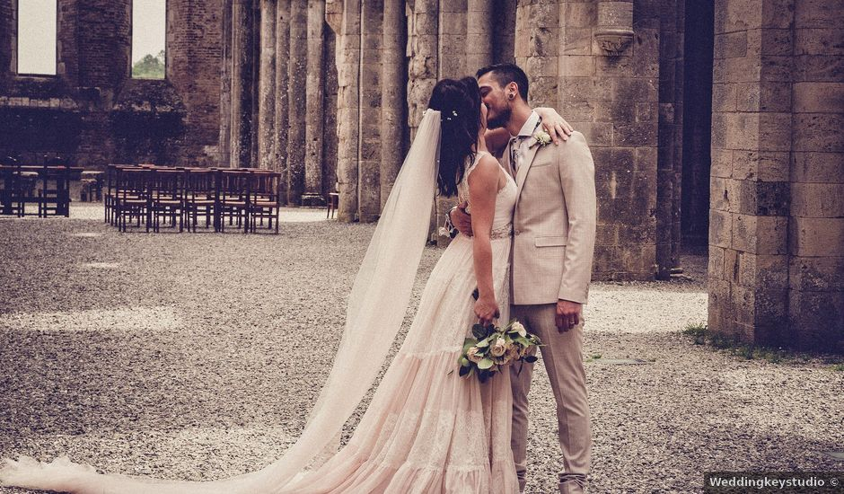 Il matrimonio di Matteo e Denise a Siena, Siena