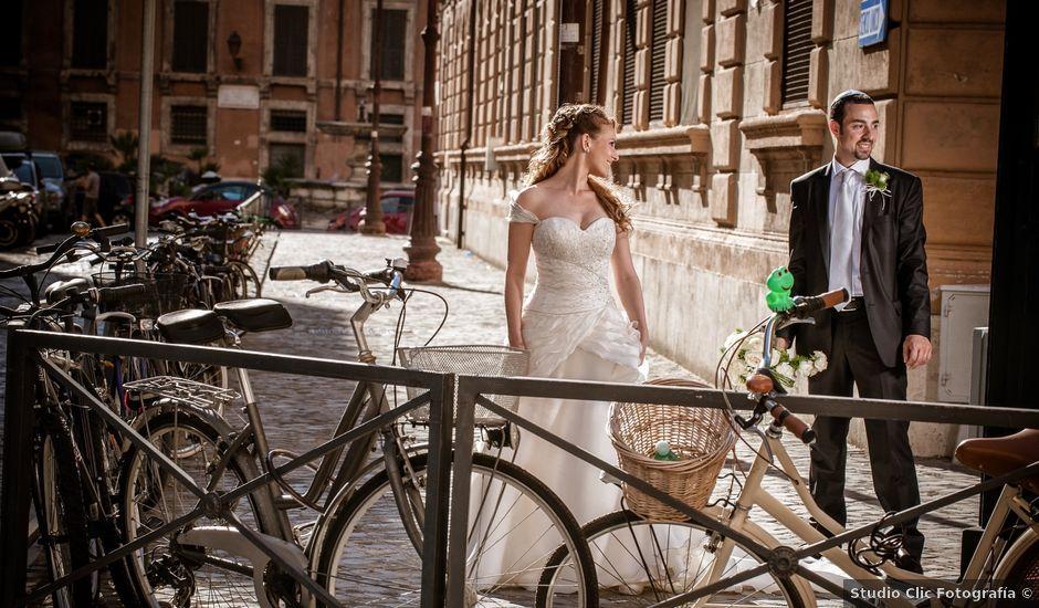 Il matrimonio di Fabio e Sharon a Roma, Roma