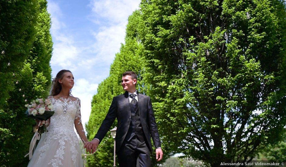 Il matrimonio di Alberto e Cristina a Leno, Brescia