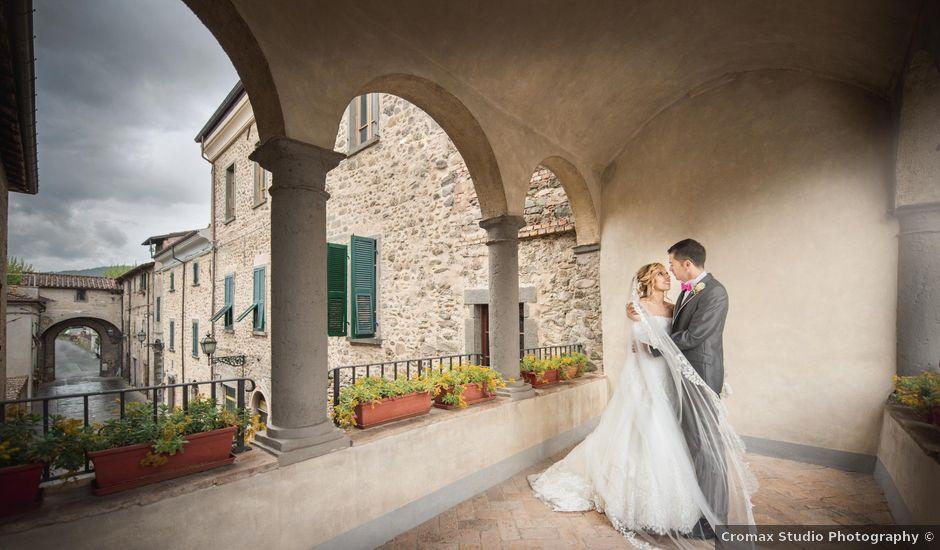 Il matrimonio di Claudio e Chiara a Podenzana, Massa Carrara
