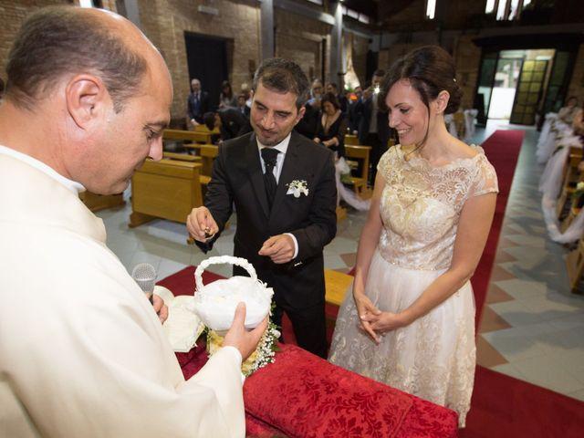 Il matrimonio di Gisberto e Sara a Marino, Roma 19