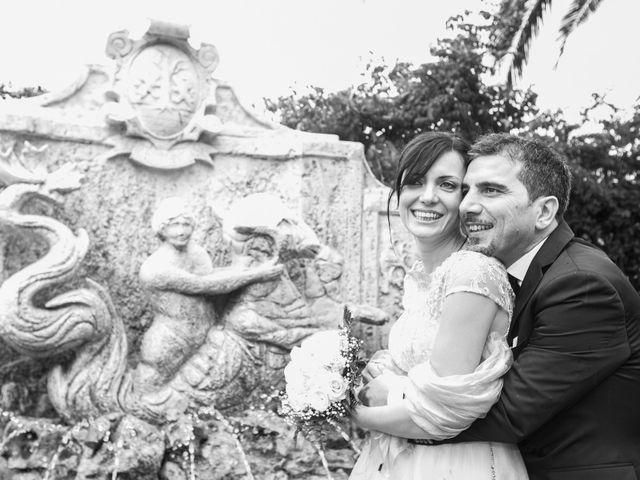 Il matrimonio di Gisberto e Sara a Marino, Roma 32