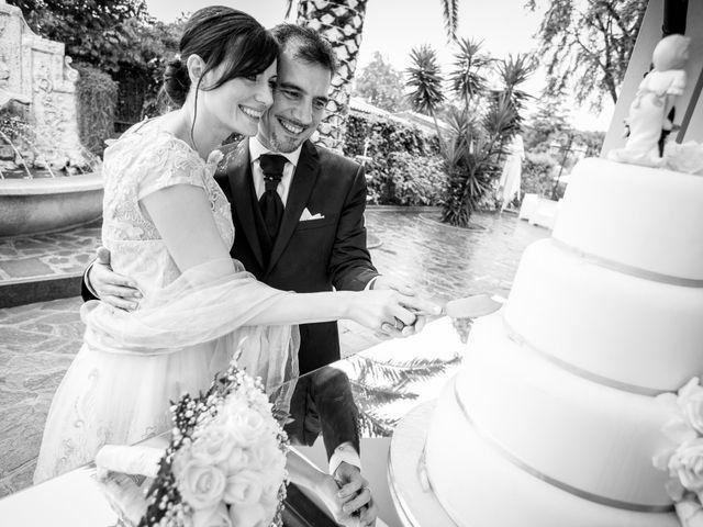 Il matrimonio di Gisberto e Sara a Marino, Roma 33