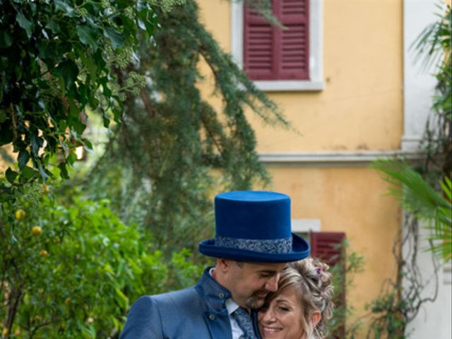 Il matrimonio di Massimiliano e Paola a Ferno, Varese 3