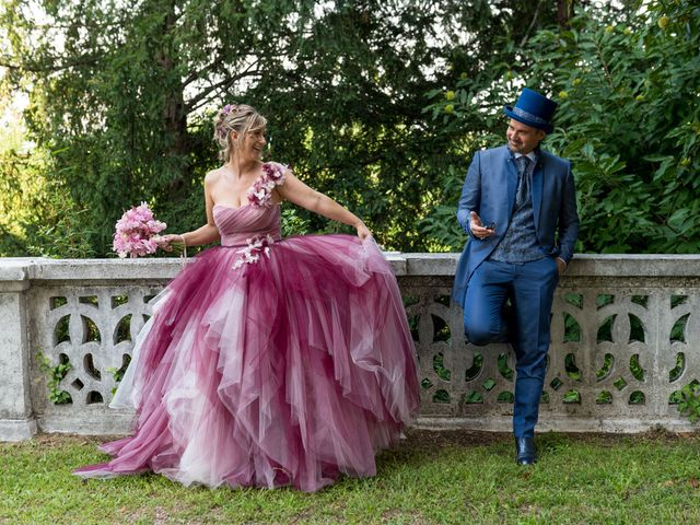 Il matrimonio di Massimiliano e Paola a Ferno, Varese 1
