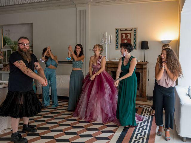 Il matrimonio di Massimiliano e Paola a Ferno, Varese 8