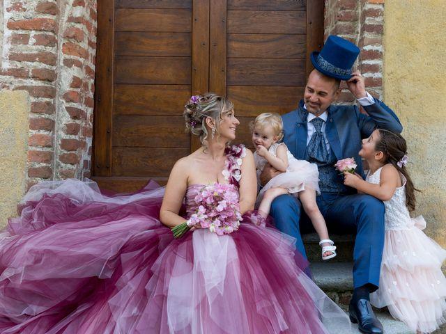 Il matrimonio di Massimiliano e Paola a Ferno, Varese 14