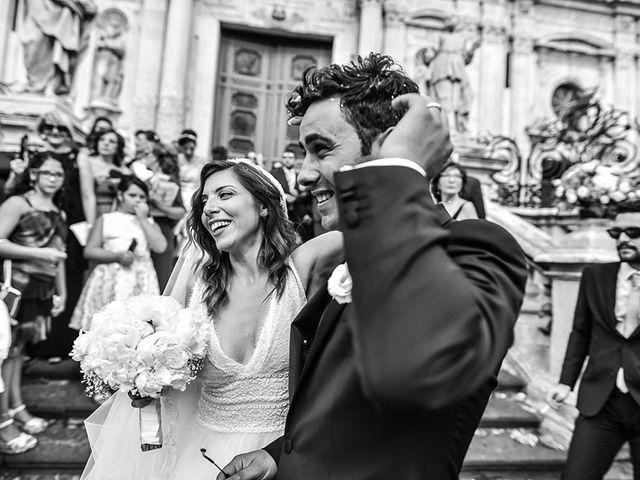 Il matrimonio di Marzia e Angelo a Acireale, Catania 34