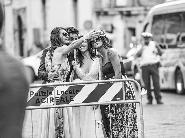 Il matrimonio di Marzia e Angelo a Acireale, Catania 38