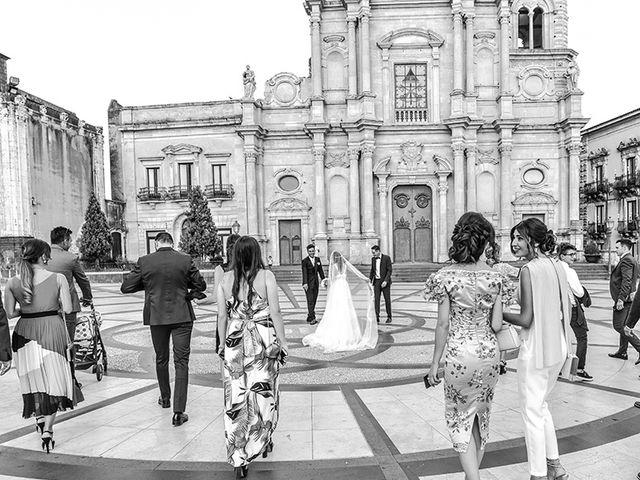 Il matrimonio di Marzia e Angelo a Acireale, Catania 41