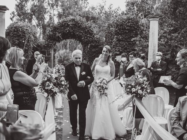 Il matrimonio di Maria Emanuela e Diego a Pomezia, Roma 28
