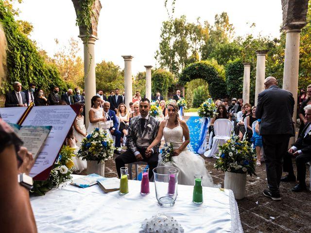 Il matrimonio di Maria Emanuela e Diego a Pomezia, Roma 33
