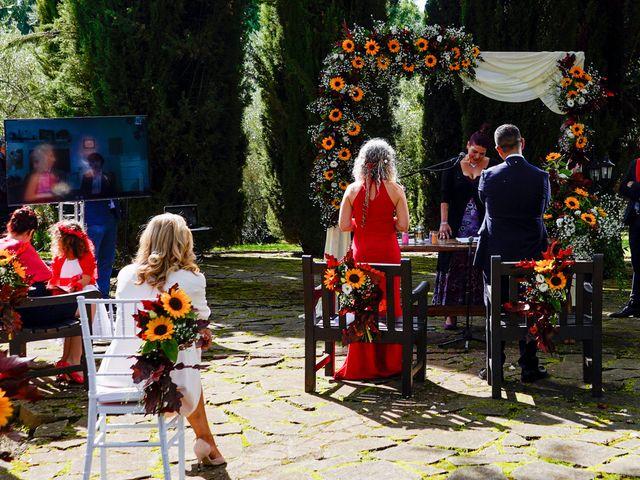 Il matrimonio di Simona e Fabio a Soriano nel Cimino, Viterbo 17