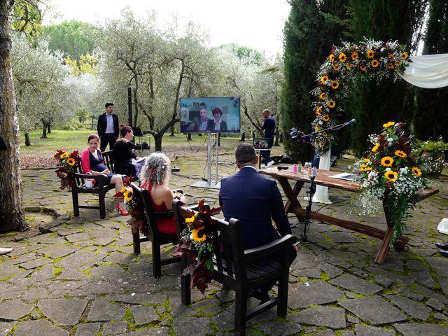 Il matrimonio di Simona e Fabio a Soriano nel Cimino, Viterbo 19