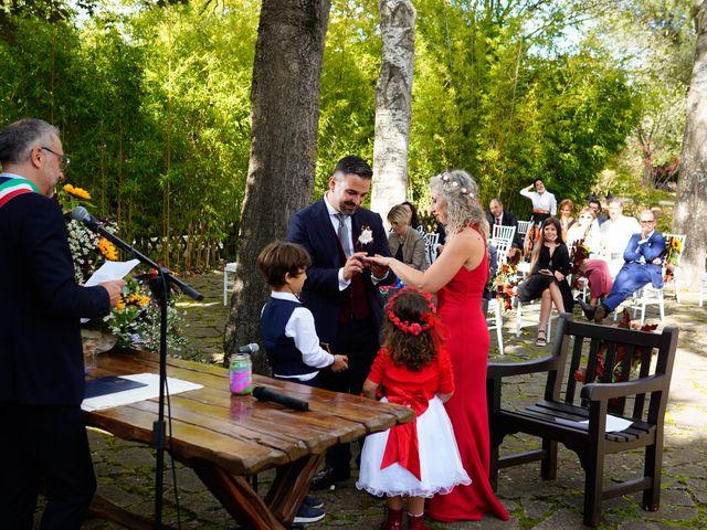 Il matrimonio di Simona e Fabio a Soriano nel Cimino, Viterbo 22