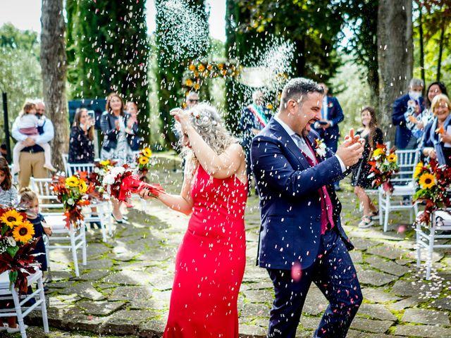 Il matrimonio di Simona e Fabio a Soriano nel Cimino, Viterbo 26