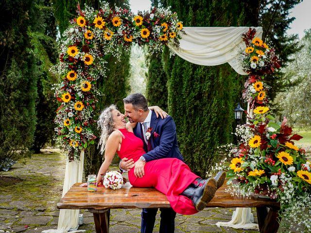 Il matrimonio di Simona e Fabio a Soriano nel Cimino, Viterbo 27