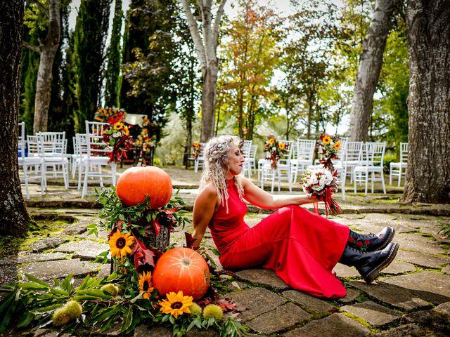 Il matrimonio di Simona e Fabio a Soriano nel Cimino, Viterbo 31