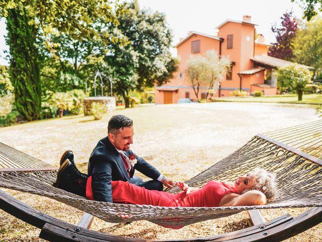 Il matrimonio di Simona e Fabio a Soriano nel Cimino, Viterbo 33