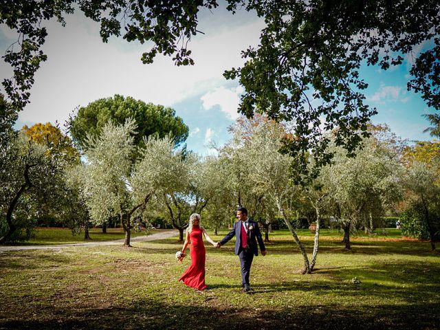 Il matrimonio di Simona e Fabio a Soriano nel Cimino, Viterbo 35