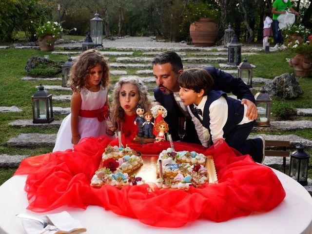 Il matrimonio di Simona e Fabio a Soriano nel Cimino, Viterbo 42