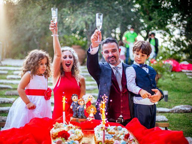 Il matrimonio di Simona e Fabio a Soriano nel Cimino, Viterbo 47