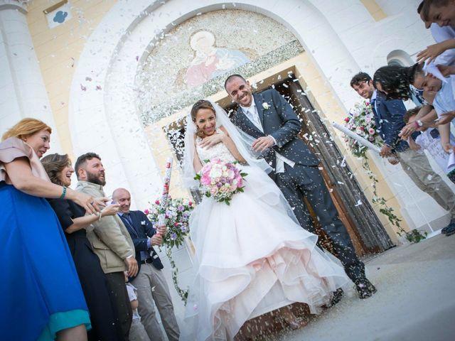 Il matrimonio di Nino e Mariarosaria a Santa Cesarea Terme, Lecce 39