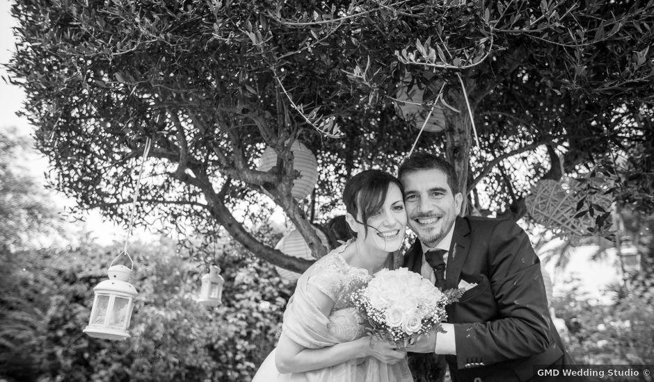 Il matrimonio di Gisberto e Sara a Marino, Roma