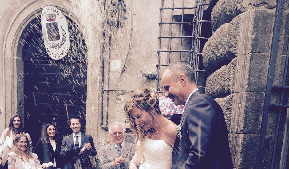 Il matrimonio di Simone  e Raffaella  a Bomarzo, Viterbo