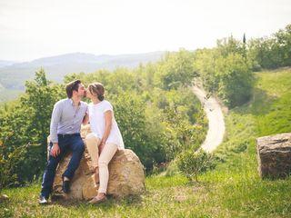 Le nozze di Charlotte e Laurent 1