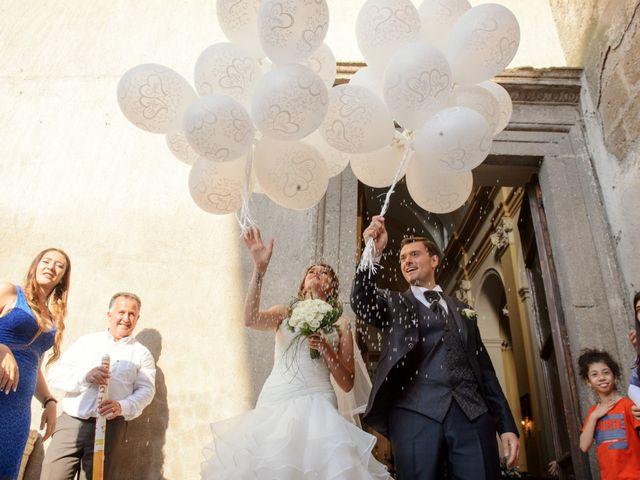 Il matrimonio di Mario e Elisa a Barbarano Romano, Viterbo 27