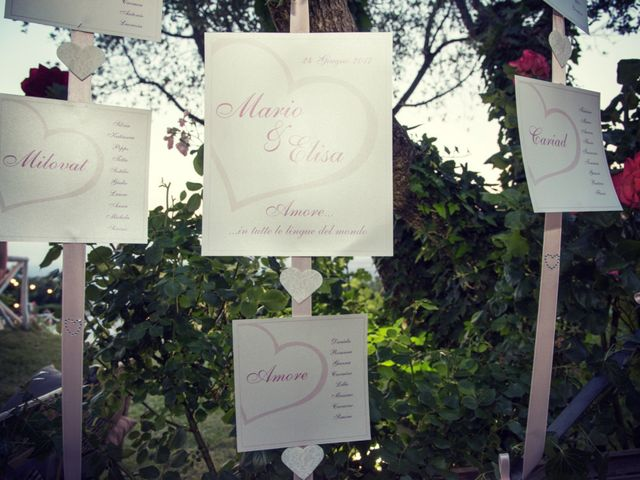 Il matrimonio di Mario e Elisa a Barbarano Romano, Viterbo 39