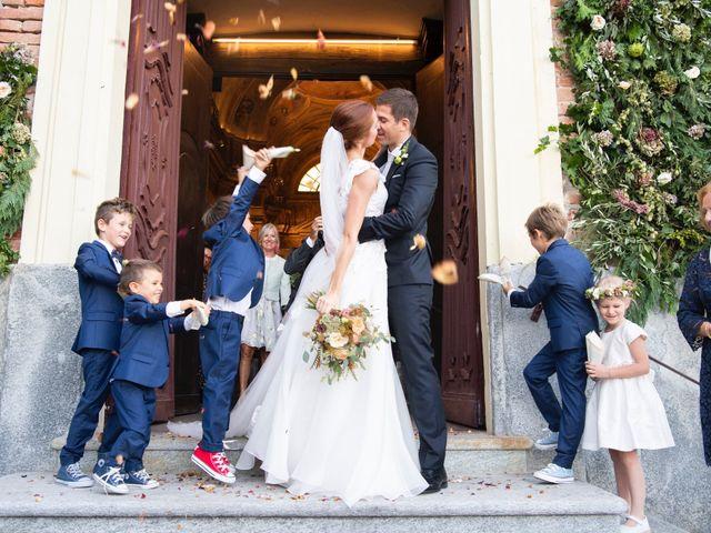Il matrimonio di Federico e Carlotta a San Sebastiano da Po, Torino 36