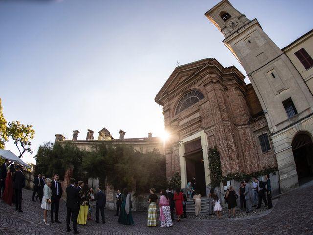 Il matrimonio di Federico e Carlotta a San Sebastiano da Po, Torino 50