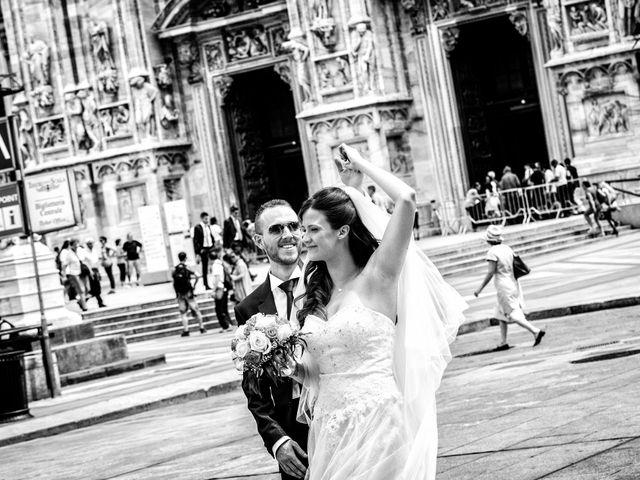 Il matrimonio di Mattia e Valentina a Milano, Milano 56