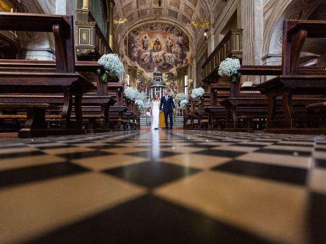 Il matrimonio di Francesco e Daniela a Vimercate, Monza e Brianza 18