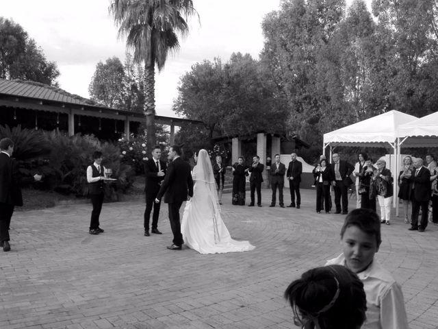 Il matrimonio di Flavia e Simone  a Pomezia, Roma 10