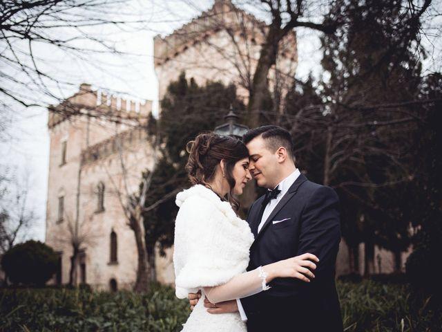 Il matrimonio di Riccardo e Francesca a Monteforte d'Alpone, Verona 1