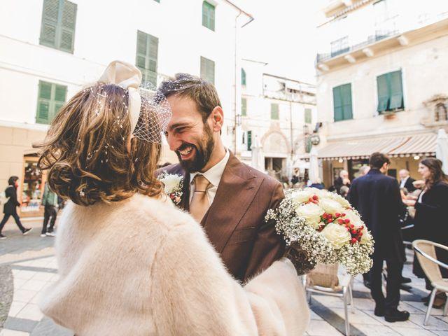 Il matrimonio di Alessandro e Ilaria a Noli, Savona 25