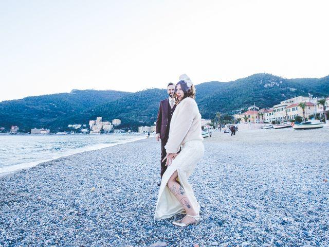 Il matrimonio di Alessandro e Ilaria a Noli, Savona 30