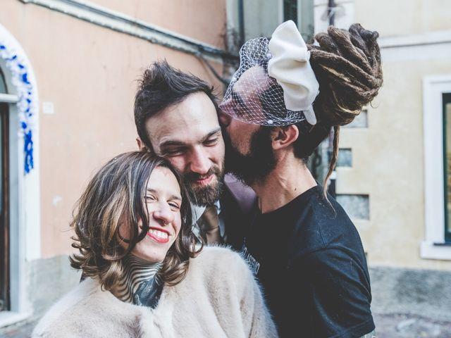 Il matrimonio di Alessandro e Ilaria a Noli, Savona 36