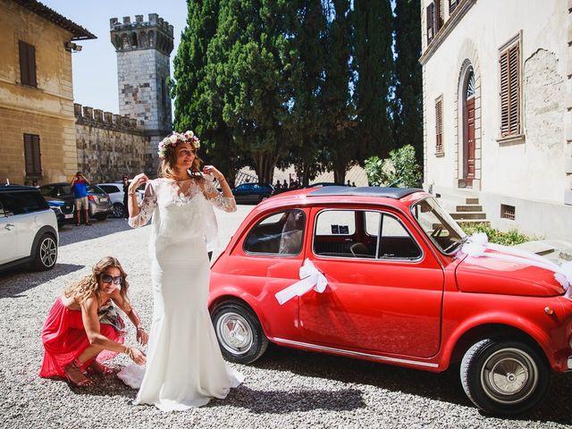 Il matrimonio di Laurent e Charlotte a San Casciano in Val di Pesa, Firenze 15