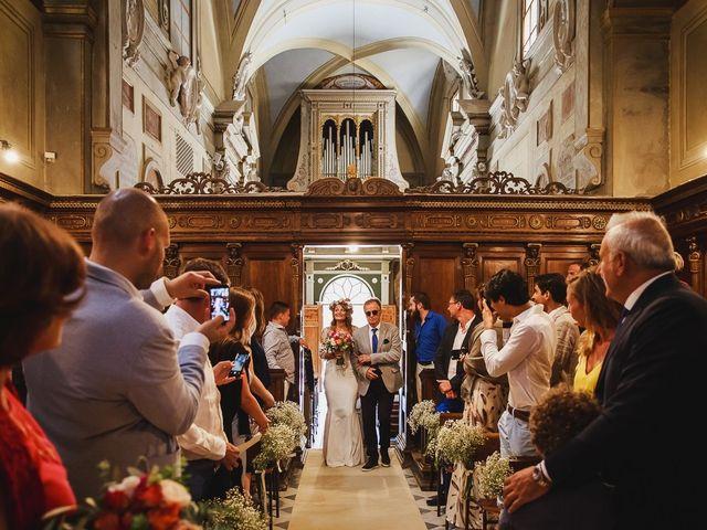 Il matrimonio di Laurent e Charlotte a San Casciano in Val di Pesa, Firenze 17